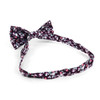 3pc Floral Wedding Cotton Banded Bow Tie - NFCB17120