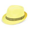 120pc Mixed Unisex Neon Fedora Hats HNEON-CO