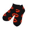 Assorted Pack (6 pairs) Women's Kisses Pattern Low Cut Socks LN6F1636