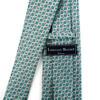 Geometric Microfiber Poly Woven Tie - MPW5917