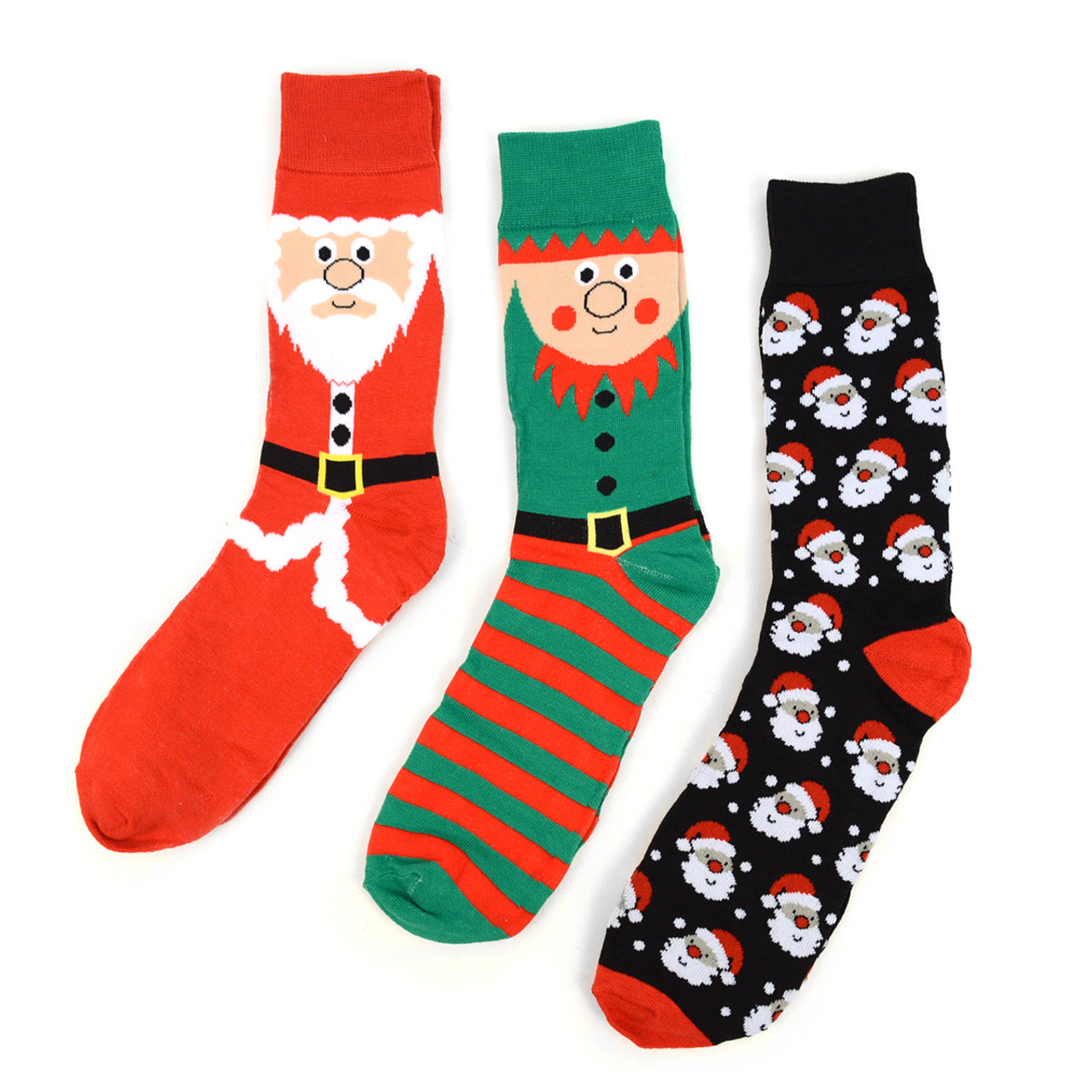 Mens Christmas Socks.24 Boxes 72pairs Assorted Men S Christmas Socks Red Gift Box Set 3 Pairs Per Box Mfs2000