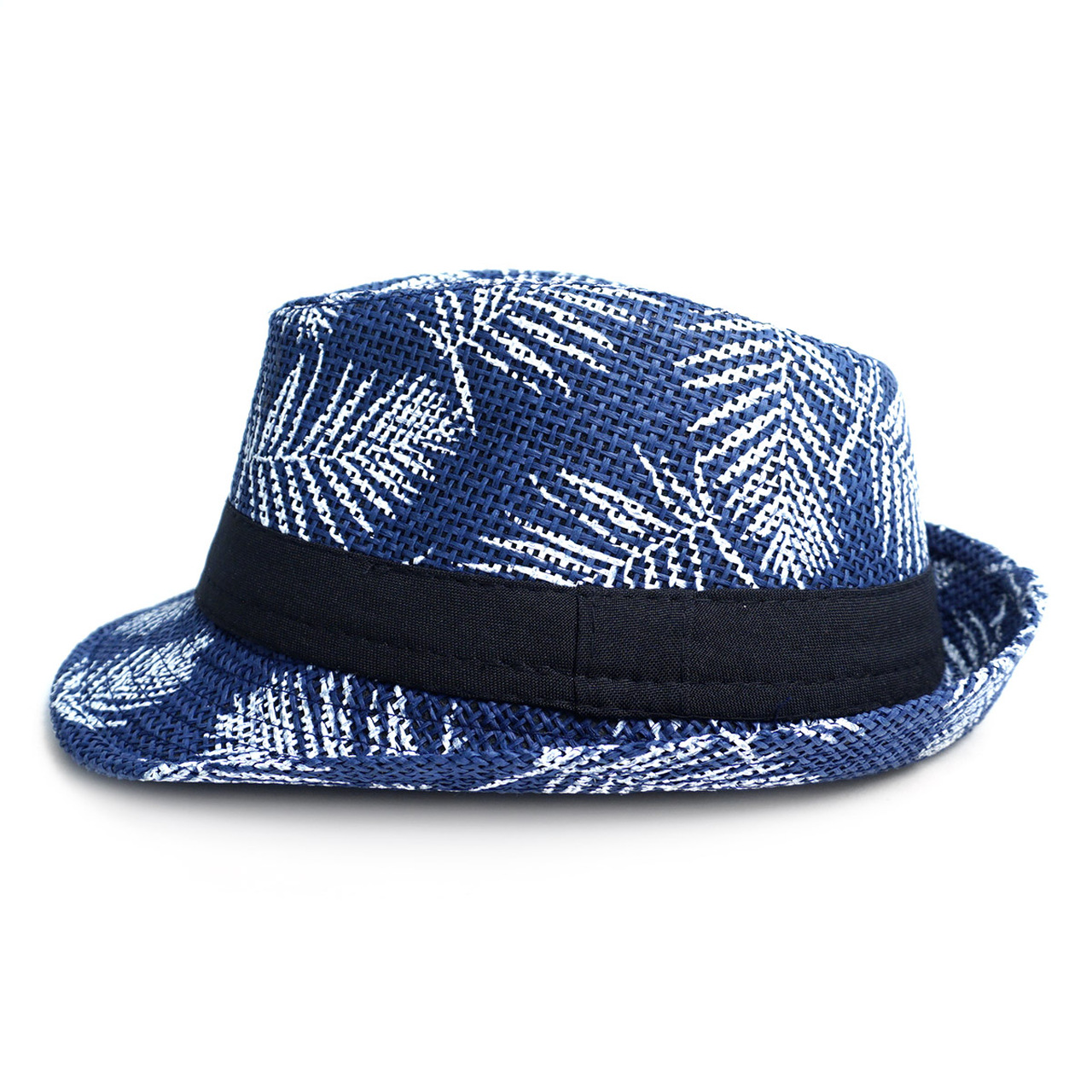 Tropical Palm Leaves Kid s Fedora Hat - BF180600 7bdf9d14195