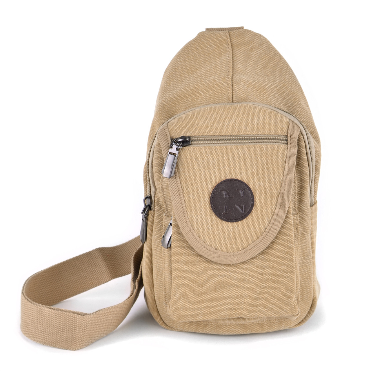 Nollia Women/'s Crossbody Canvas Sling Bag with Adjustable Strap