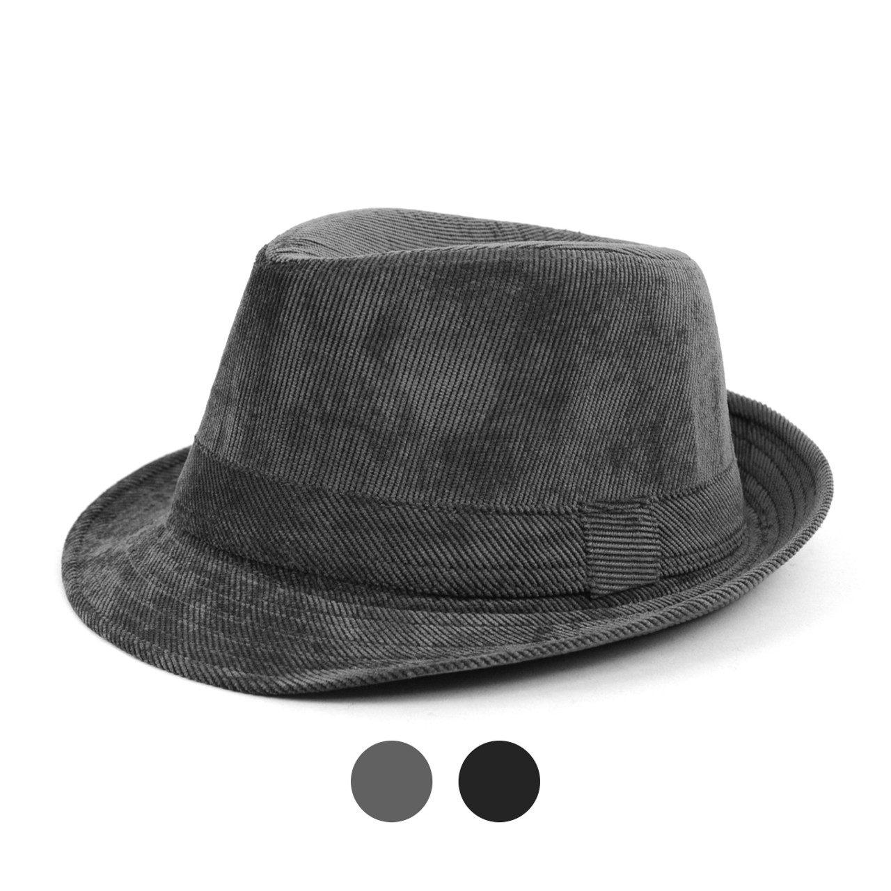 6pcs Two Sizes Boy s Fall Winter Corduroy Fedora Hats - BF0334 6c94c81d2b6