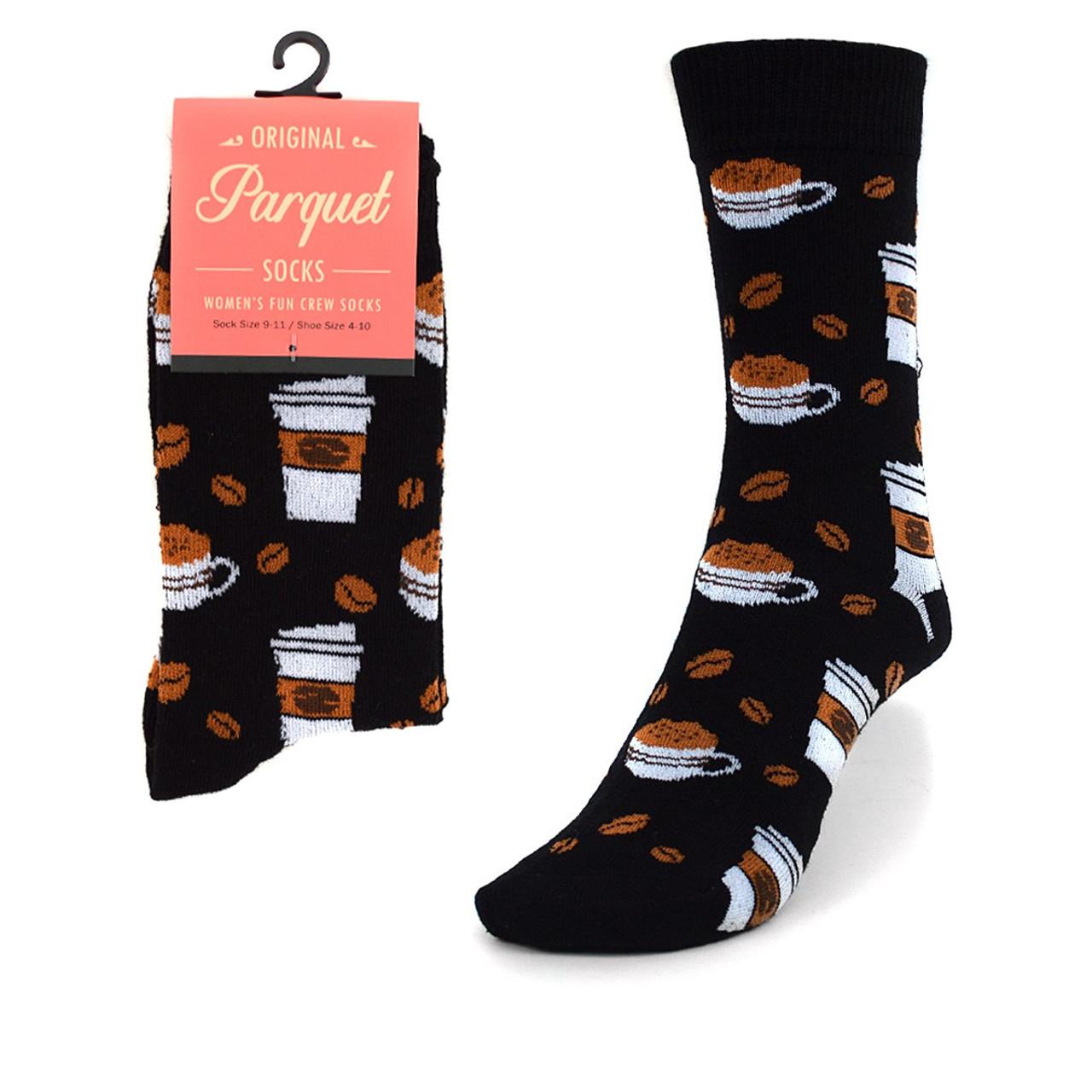 163fe214efe9 Women's Coffee Cups Novelty Socks LNVS1743