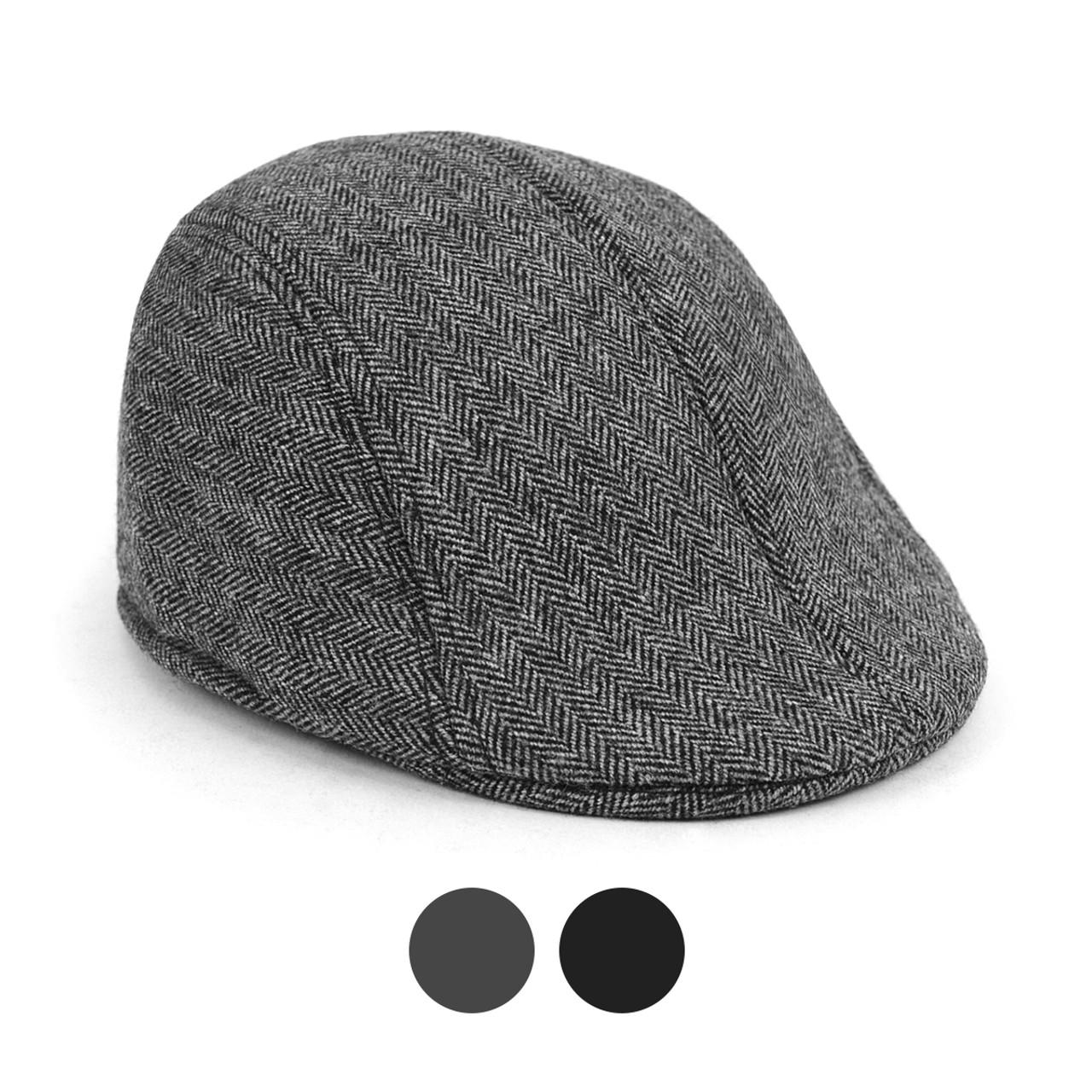 6pc Two Sizes Boy s Fall Winter Herringbone Ivy Hat - BIH10337 ... f248c91d6a3