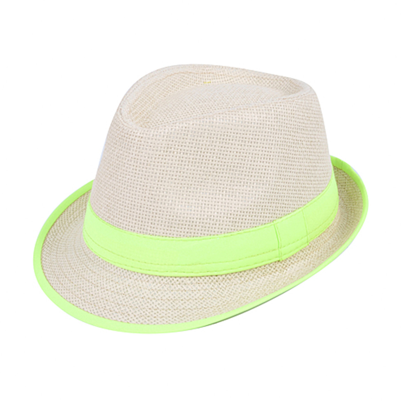 ... 120pc Mixed Unisex Neon Fedora Hats HNEON-CO ... d73afdb6e001