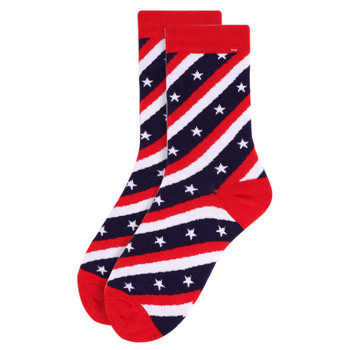 Women's American Flag Novelty Socks - LNVS1818