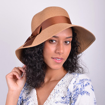 Women's  Floppy Sun Hat with Ribbon Bow-knot - LFH180502