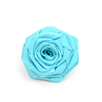 Men's Solid Flower Boutonniere Clutch Back Lapel Pins - FLP1801