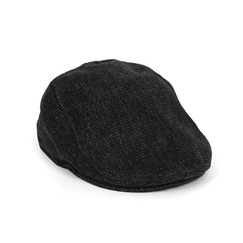 Fall/Winter Black & Charcoal Speckled Ivy Hat - H1805266