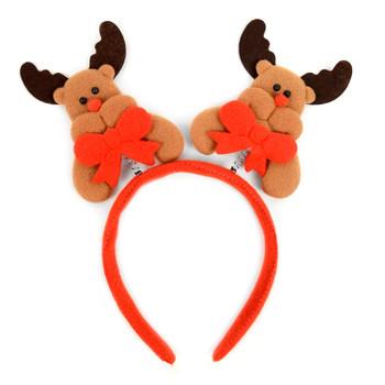 Christmas & Holiday Reindeer Head Band - XWDC5107-H
