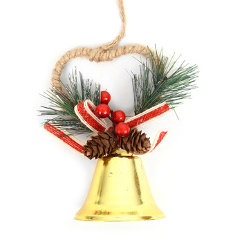 Christmas Tree Bell Ornaments Decorations - XMAO5239-Gold