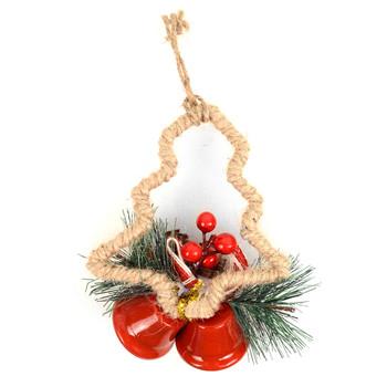 Christmas Tree Shape Ornaments Decoration - XMAO5241-RD
