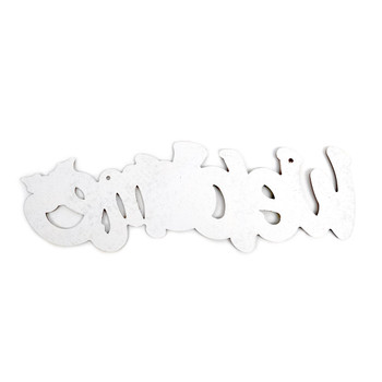 Christmas Wall Decor Snowman Welcome Hanging Sign - XWDC5304