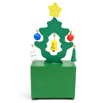 Christmas Tree Shape Wooden Calendar - XHDC5191