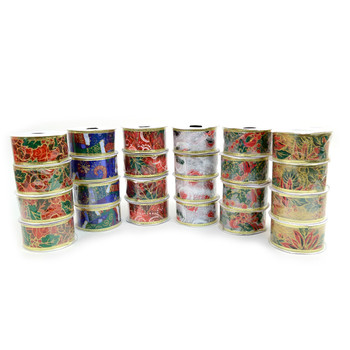 24pc Christmas Ribbon - XRT24PK