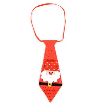 Light Up Christmas Santa Claus Tie - XAP5313-ST