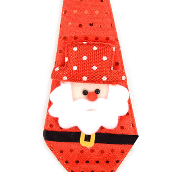 Light Up Christmas Santa Claus Tie - XAP5313-ST