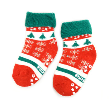 3 Pairs Pack Infants Christmas Holidays Crew Socks - 3PK-IXMS