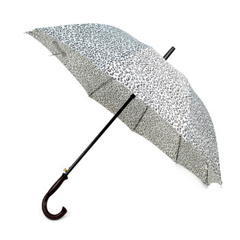 Animal Print Black Cheetah Auto Open Umbrella - UM18060-CH/BLK