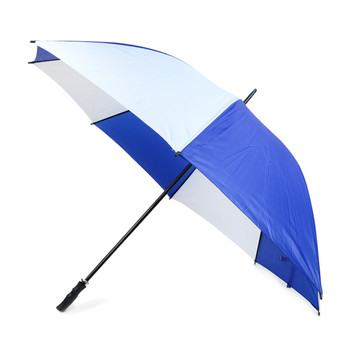 Manual Open Blue & White Canopy Umbrella - UM18054