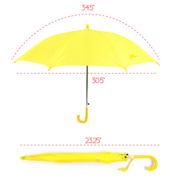 Kid's Solid Color Umbrella - UK18012