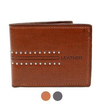 Bi-Fold  Leather Men's Wallet - MLW5195