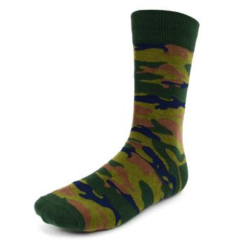Men's Camouflage Novelty Socks - NVS1906