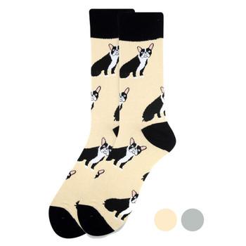 Men's French Bulldog Novelty Socks - NVS1910