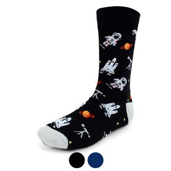 Men's Astronaut Novelty Socks - NVS1919