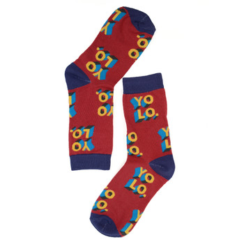 "Women's ""YOLO"" Novelty Socks - LNVS1905"