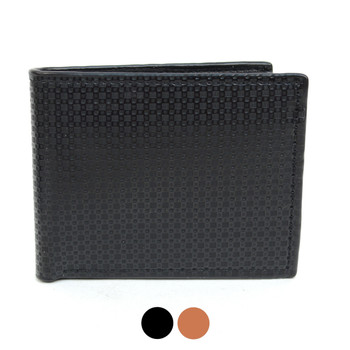 Bi-Fold  Leather Men's Wallet - MLW5194