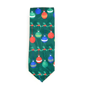 Men's Poly Woven Jacquard Christmas Neckties - XMT1801
