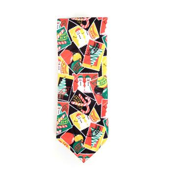 Men's Poly Woven Jacquard Christmas Neckties - XMT1806