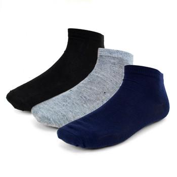 6 Pairs Pack  Men's Quarter Cut  Socks - AK6PK/ASST
