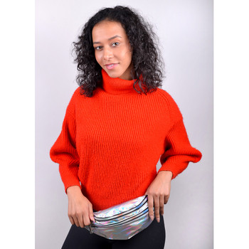 Silver Iridescent Holographic Waist Fanny Pack - LFBG1300