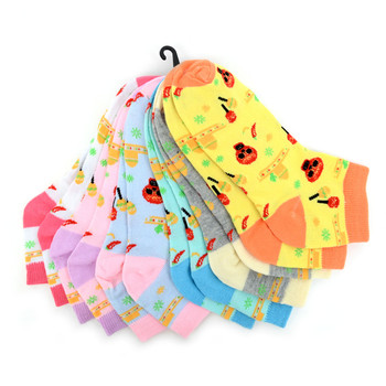 Assorted (6 pairs/pack) Women's Cinco de Mayo Low Cut Socks - LN6S-1001