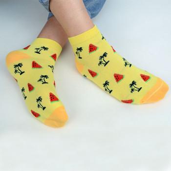 Assorted (6 pairs/pack) Women's Summer Low Cut Fun Socks -LN6S-1011