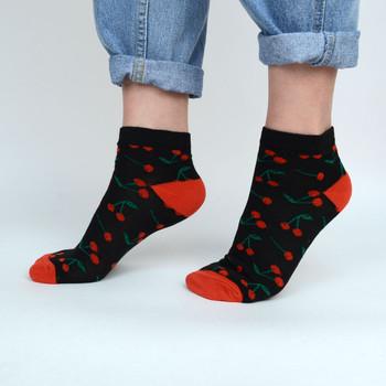 Assorted (6 pairs/pack) Women's Fruits Low Cut Fun Socks -LN6S-1015