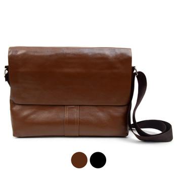 PU Leather Classic Crossbody Messenger Bag - FBG1835