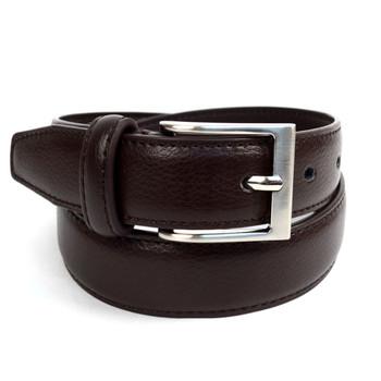 Boy's Genuine Leather Dress Brown Belt - BOYB0602-BR