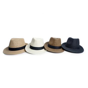 Spring/Summer Wide Brim Fedora Hat - H180601