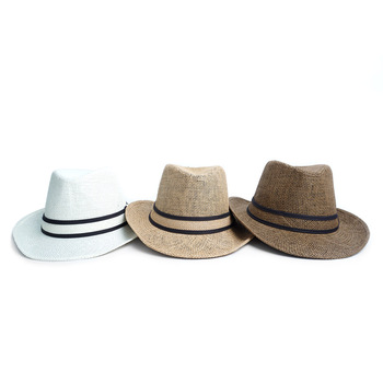 Spring/Summer Fashion Panama Fedora Hat - H180602