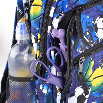 Soccer & Football Pattern Novelty Backpack-NVBP-31