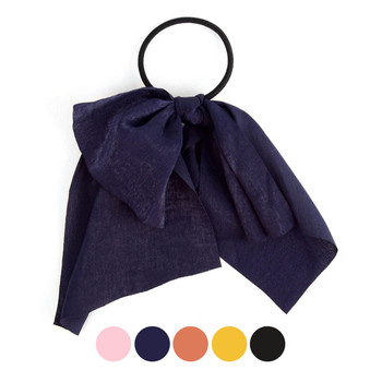 Ladies Solid Color Ribbon Hair Tie -RHT1003