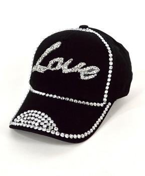 "Bling Studs Cap ""Love"" H9304"