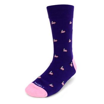 Men's Flying Pigs Premium Collection Novelty Socks - NVPS2007