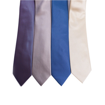 Dots Microfiber Poly Woven Tie - MPW6922
