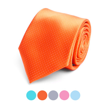 Dots Microfiber Poly Woven Tie - MPW6921
